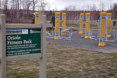 Oriole Park Fitness Park